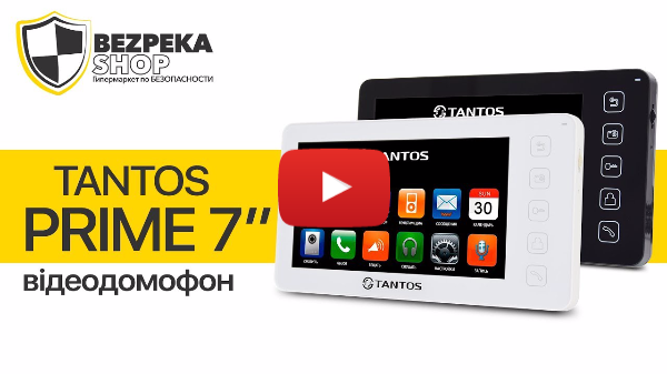 TANTOS PRIME 7' | ОБЗОР ВИДЕОДОМОФОНА